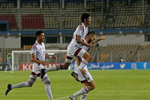 Al-Wahda got the better of Persepolis FC in their previous ACL fixture. (Image: AFC)