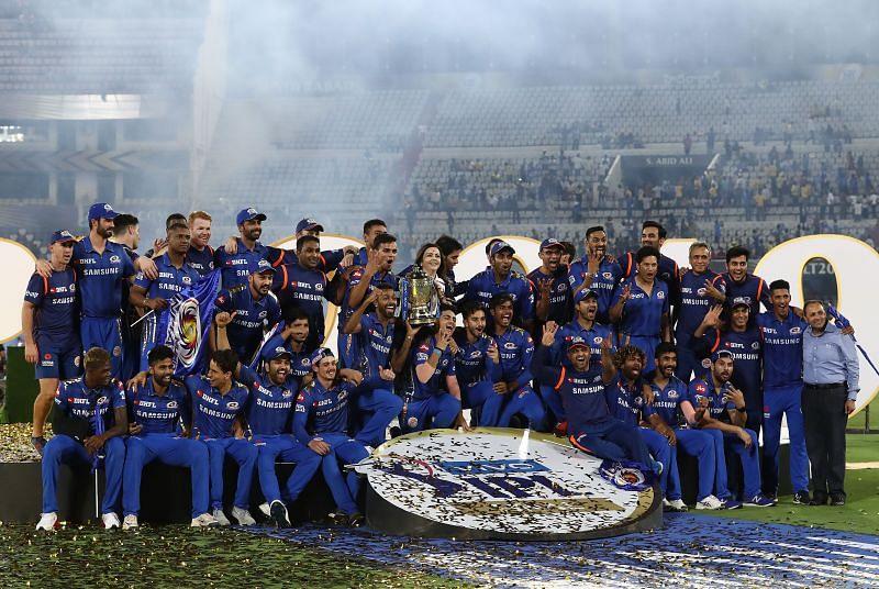 The Mumbai Indians won consecutive IPL championships in 2019 and 2020.