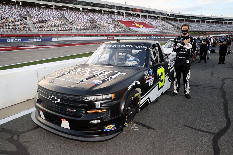 NASCAR Gander Outdoors Trucks Series North Carolina Education Lottery 200. Photo: Chris Graythen/Getty Images.