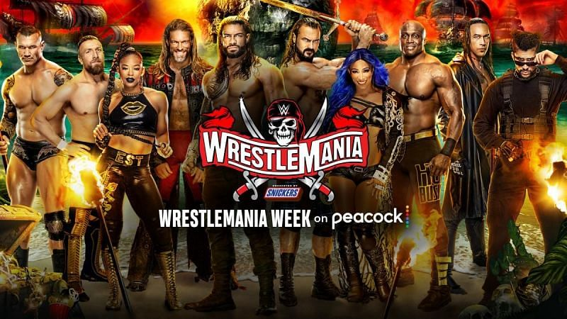 If you want to pause and rewind WrestleMania this weekend on Peacock and you