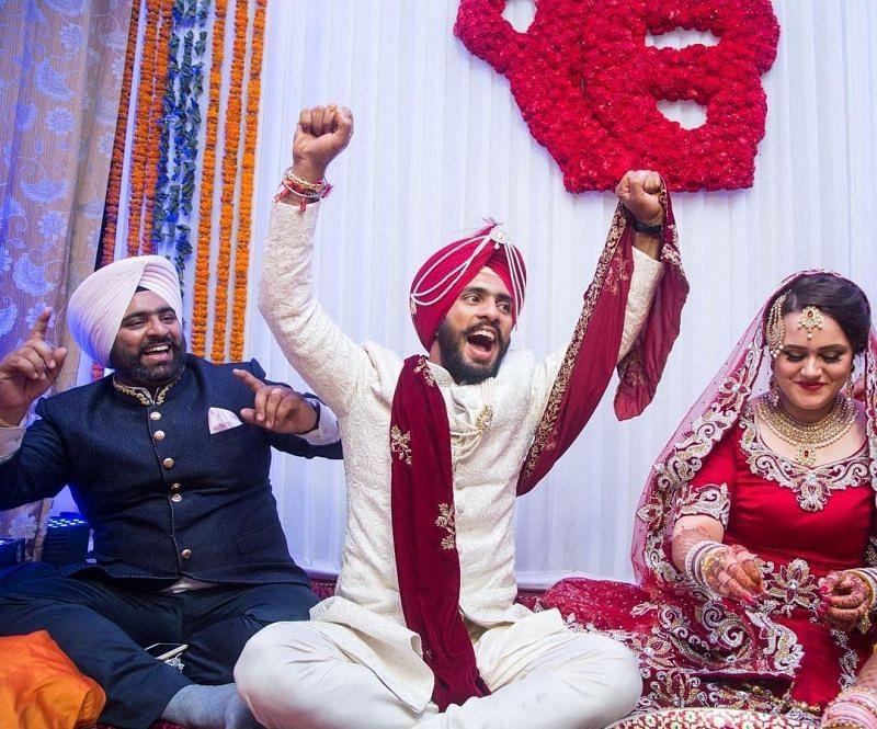 Mandeep Singh and Jagdeep Jaswal's wedding