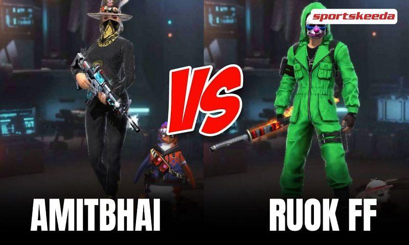 Amitbhai vs RUOK FF in Garena Free Fire