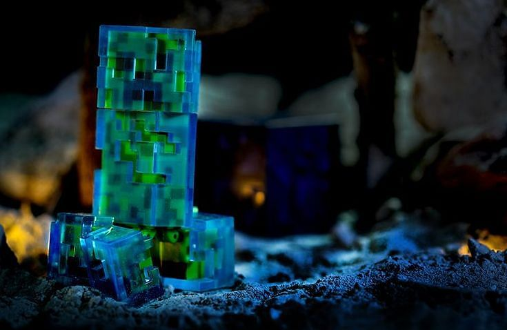 Shown: A Charged Creeper action figure (Image via Pinterest)