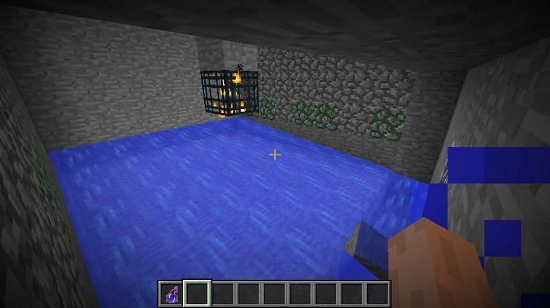 A Minecraft spawner XP farm (Image via planetminecraft)