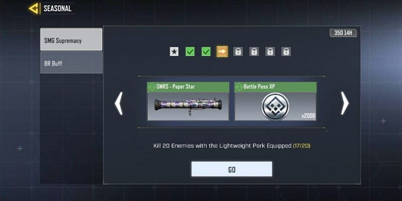 SMG Supremacy - Third task (Image via Activision)
