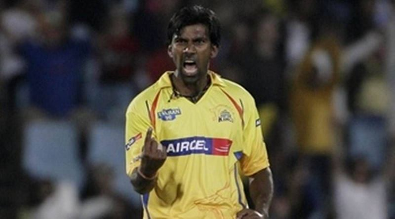 Balaji took the first Hat-Trick of the IPL