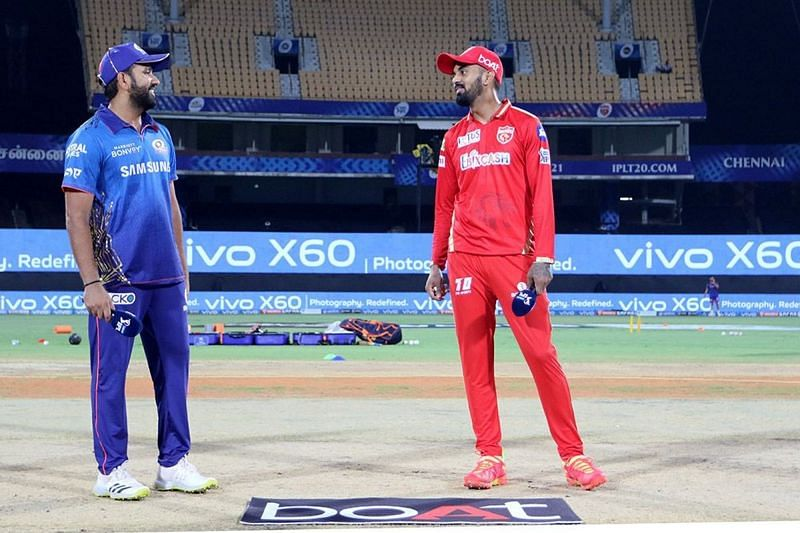 KL Rahul won the toss and elected to bowl first in Chennai (Image Courtesy: IPLT20.com)