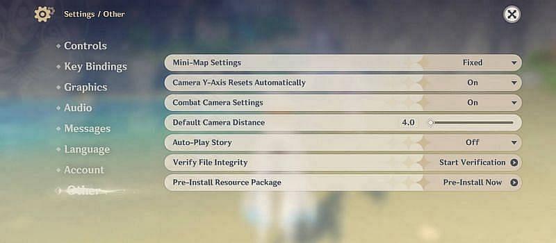 The Pre-Install option inside Paimon