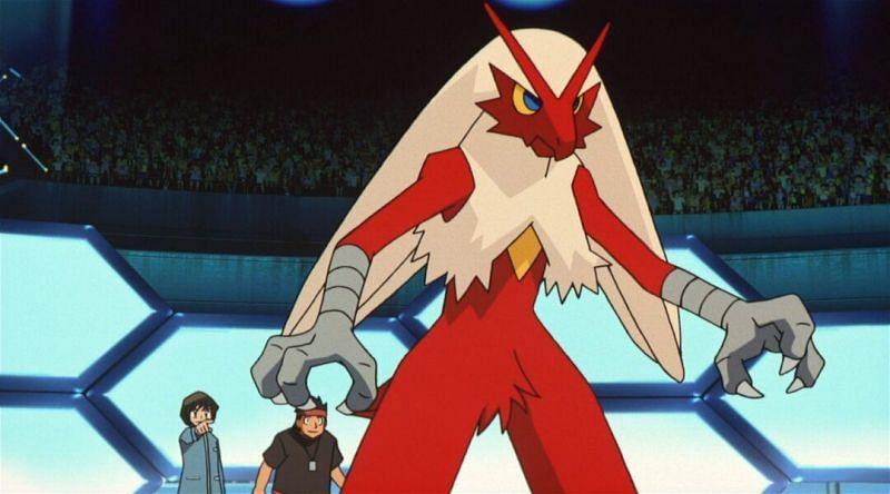 Blaziken (Image via The Pokemon Company)