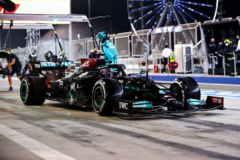 Mercedes feels they might struggle against Red Bull at Imola and Portugal.