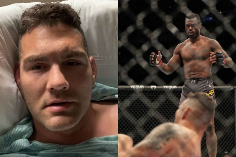 Chris Weidman addressed his surgery in a video released to his Instagram account.