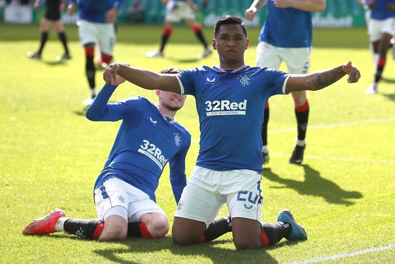 Rangers will host Hibernian on Sunday