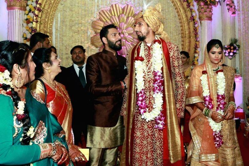 Yuvraj Singh in Ishant Sharma's Marriage