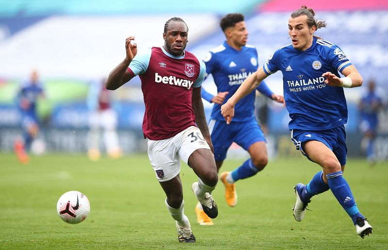 West Ham demolished Leicester 3-0 in the reverse fixture