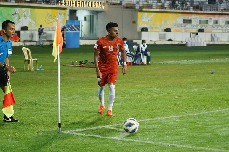 Brandon Fernandes played a key role in FC Goa