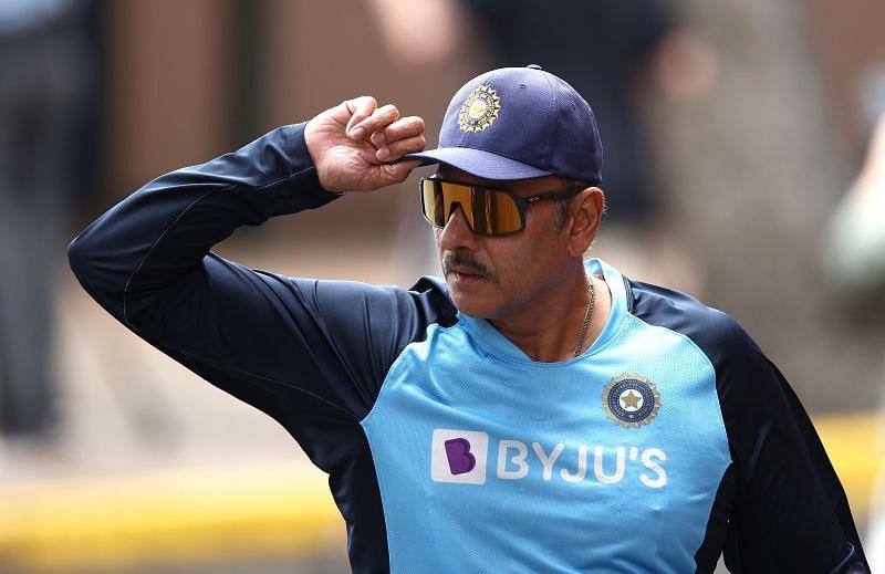 Head Coach of Team India Ravi Shastri.
