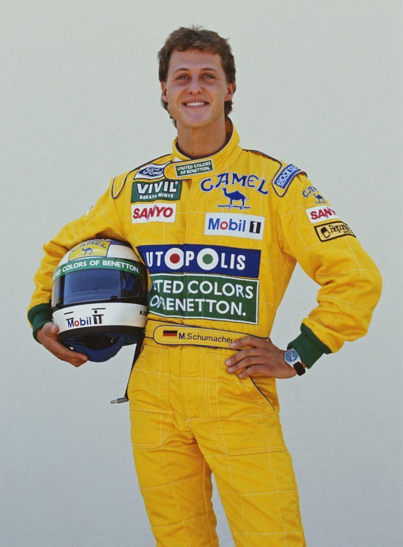 Michael Schumacher. Photo: Pascal Rondeau/Getty Images.