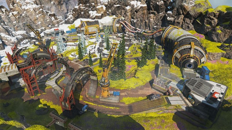 Phase Runner features a smaller version of the phase gates featured on Olympus (image via EA)