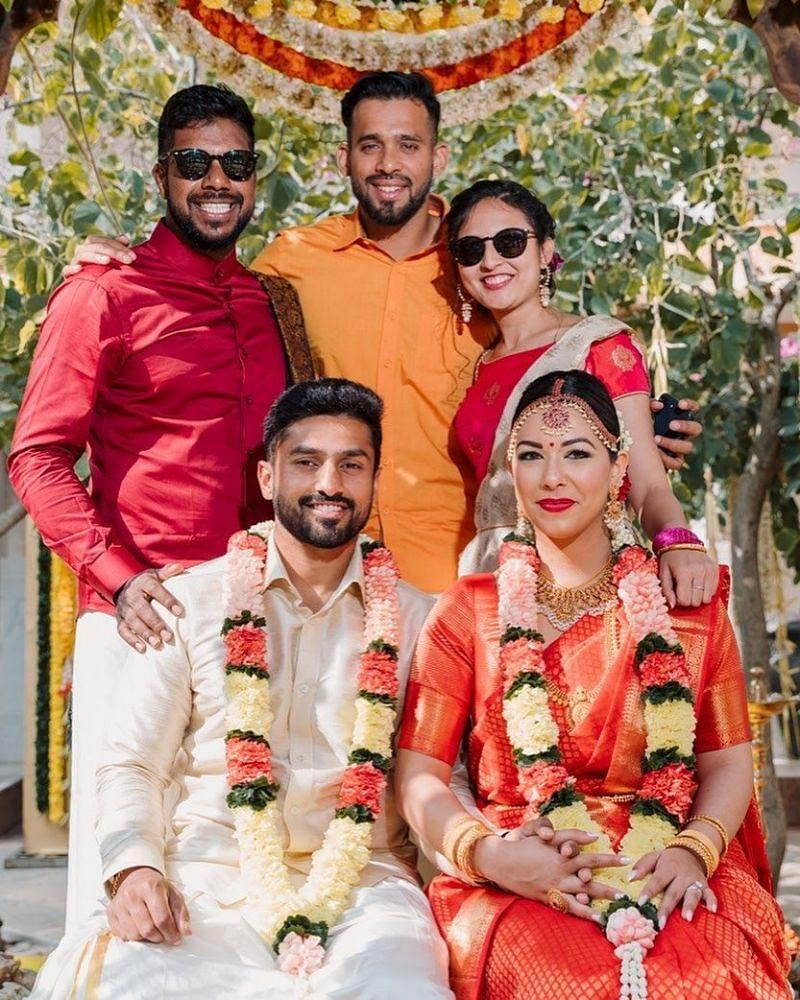 Karun Nair's Pic Friends and Sanaya