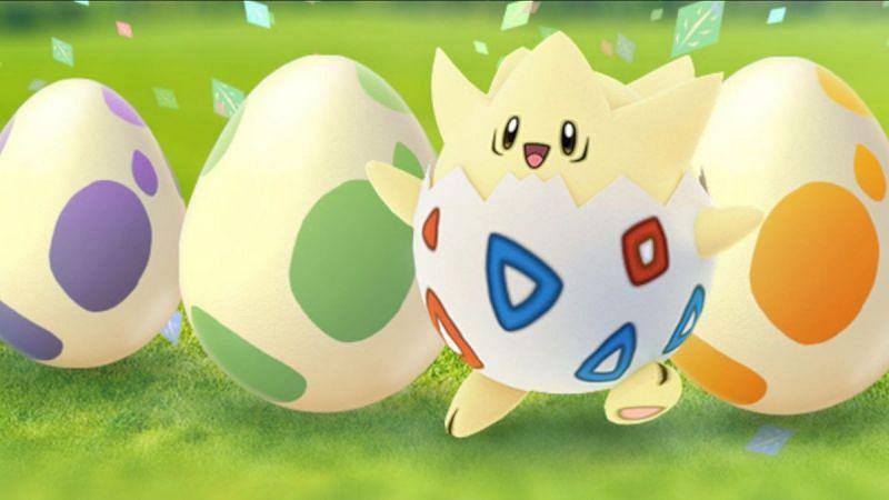 Huevos y ese Pokémon de un huevo (Togepi) (Imagen a través de Niantic)