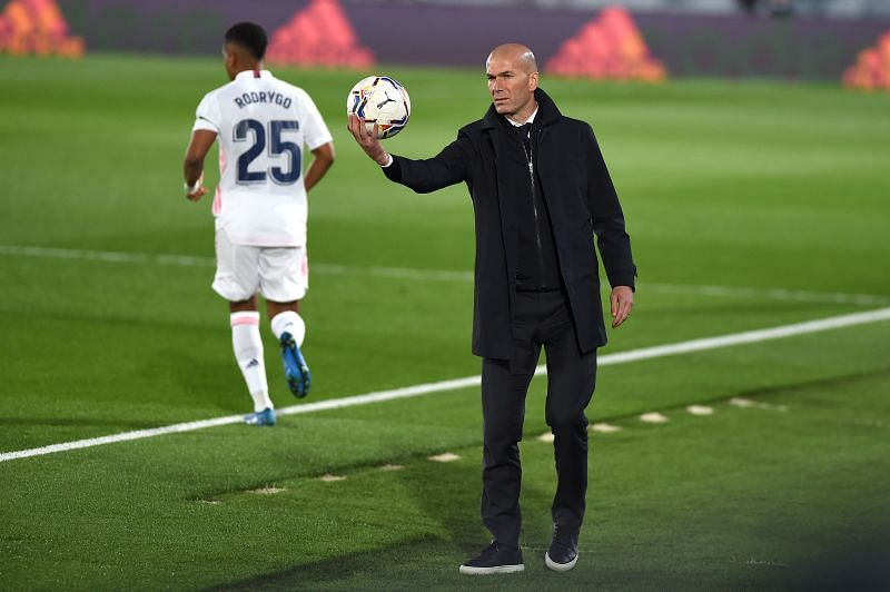 Zidane is confident in Real Madrid