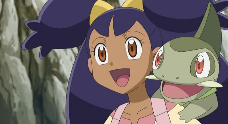 Iris in the anime (Image via The Pokemon Company)