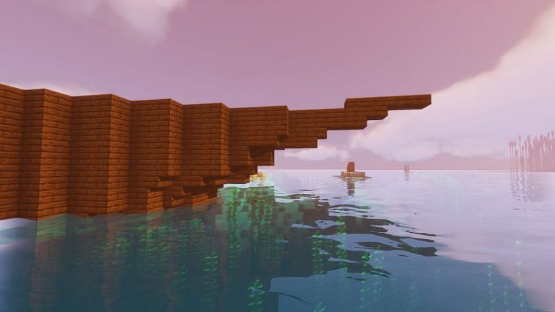 Shaping the ship in Minecraft
