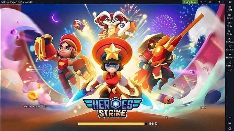 Heroes Strike Offline – MOBA & Battle Royale (Image via Nox)