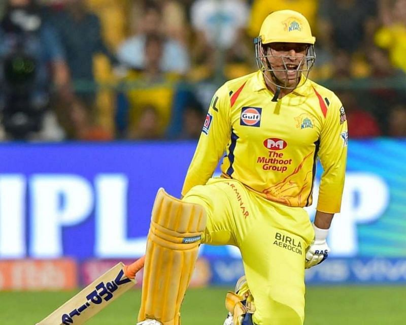 MS Dhoni is the 8th highest scorer in the IPL