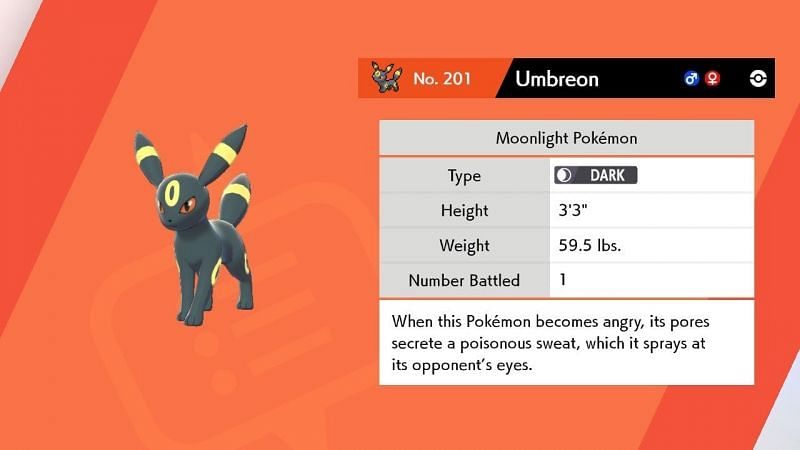 Umbreon Facts