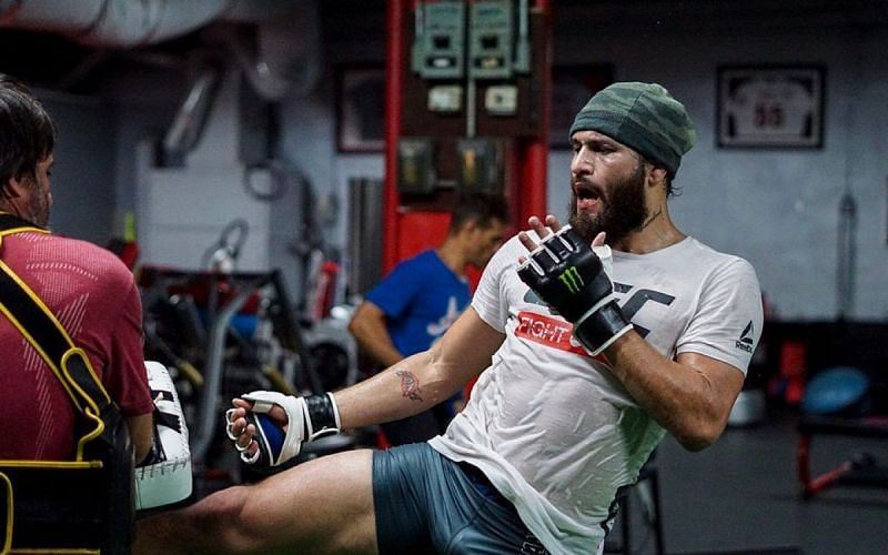 Jorge Masvidal training