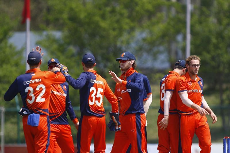 Netherlands Cricket Team (Image Courtesy: CAN Twitter)
