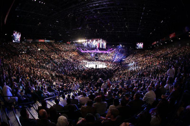 UFC 196: McGregor v Diaz at the MGM Grand Garden Arena