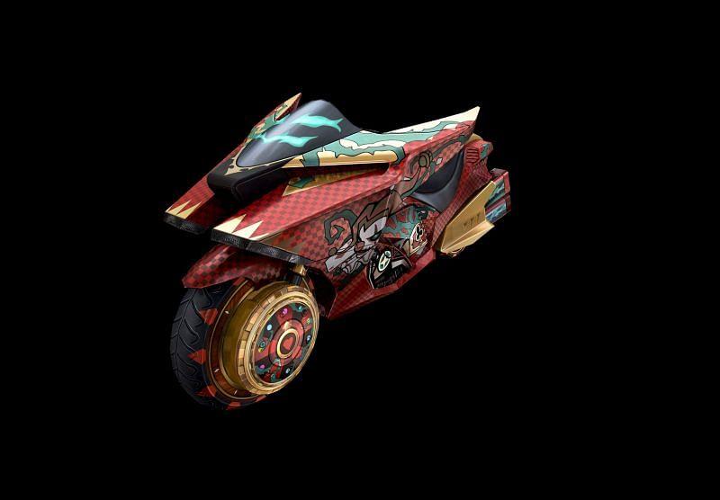 The Motorbike skin