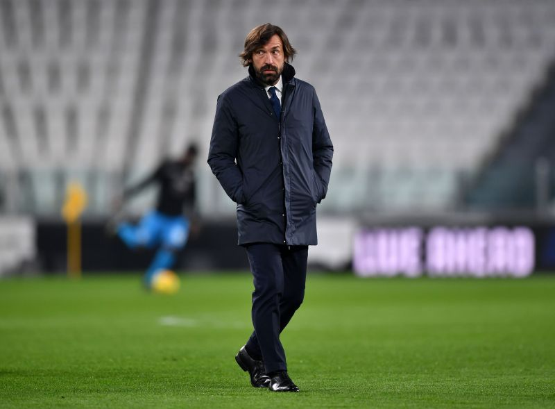Juventus manager Andrea Pirlo has a crucial few months ahead of him