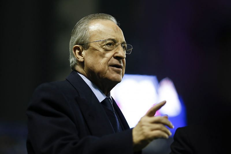 Florentino Perez is a big advocate for the European Super League. (Photo by Eric Alonso/Getty Images)