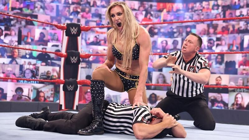 Charlotte Flair had an angry outburst this week on RAW
