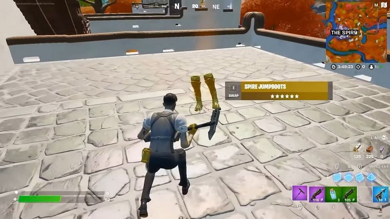 Midas turning Spire Jump boots golden (Image via YouTube, Top5Gaming)