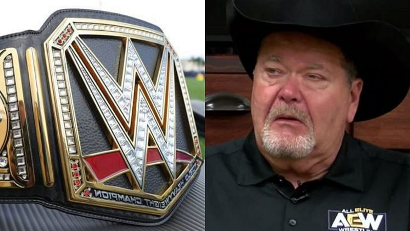 The WWE Championship and Jim Ross.