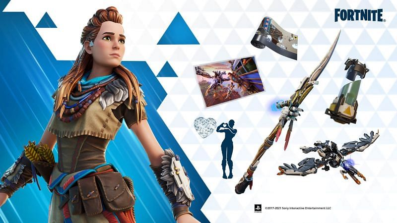 Horizon Zero Dawn bundle featuring Aloy (Image via Epic Games)