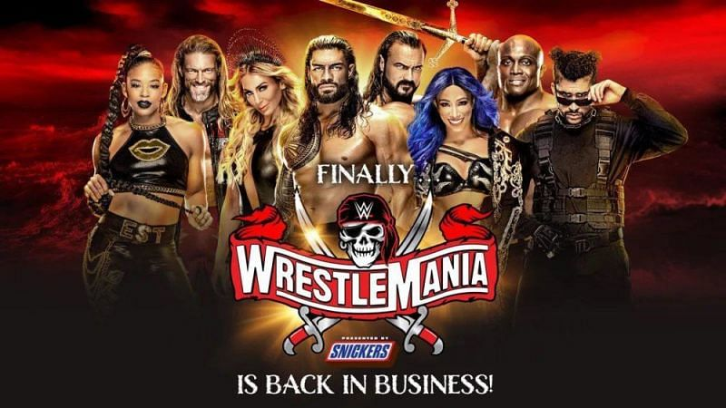 Wwe Confirms Wrestlemania 37 Night One Opening Match