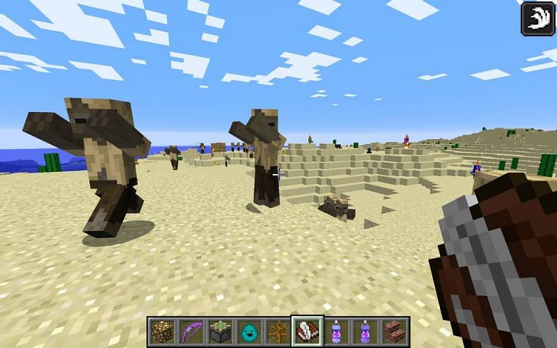 Husks in Minecraft (Image via deviant art) Enter caption
