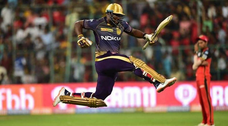 KKR all-rounder Andre Russell