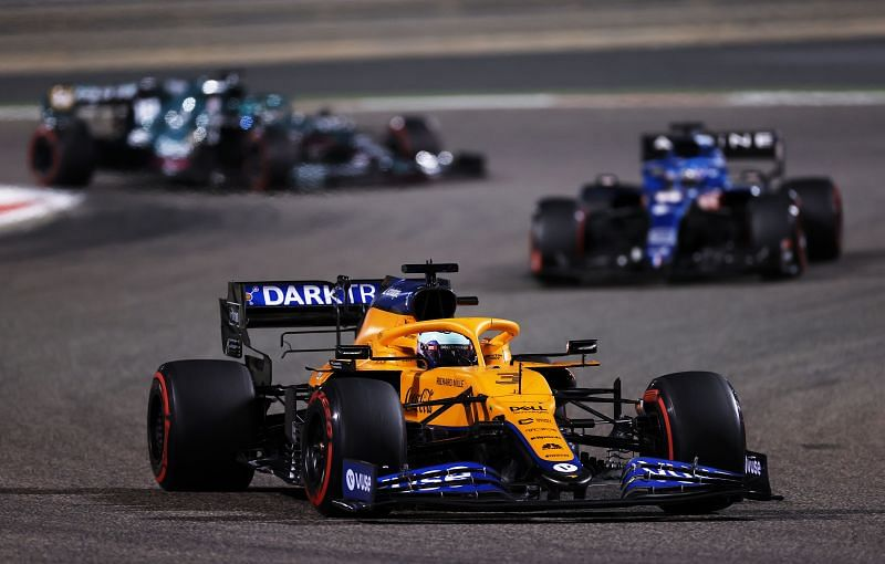 Ricciardo finished P7 at the Bahrain Grand Prix. Photo by Lars Baron/Getty Images.