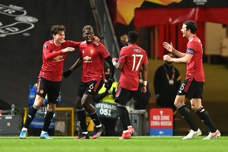 Manchester United registered an emphatic 6-2 win over AS Roma on Thursday.
