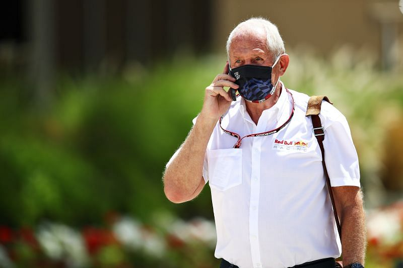 Helmut Marko feels Red Bull lost out in the Bahrain Grand Prix. Photo: Mark Thompson/Getty Images.