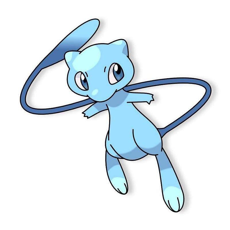 Shiny Mew (Image via The Pokemon Company)