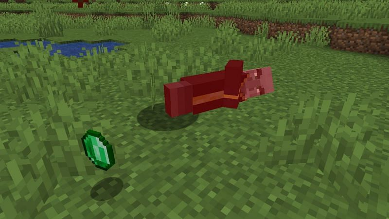 Shown: An Evoker getting defeated (Image via Minecraft)