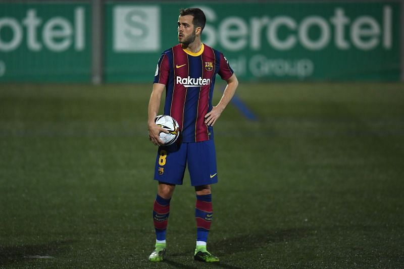 Miralem Pjanic has been a disappointing signing for Barcelona. (Photo by Alex Caparros/Getty Images)