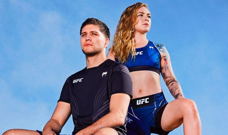 UFC fighters modeling the new Venum apparel